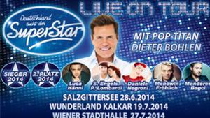 DSDS live on Tour - Tickets sichern!