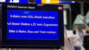 Bahnstreik: Diese Rechte haben Sie!