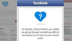 Facebook bringt Anti-Selbstmord-Button