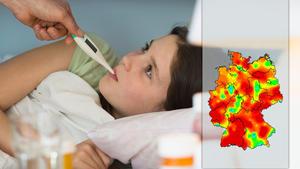 Deutschland im Griff der Grippewelle