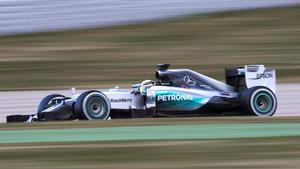 Mercedes dominiert auch 3. Testtag