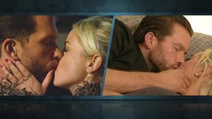 So küssten sich Liz & Caro ins Finale