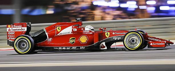 Startplatz 2 für Ferrari-Star
