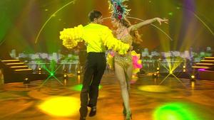 Marc und Joelina zeigen feurige Samba