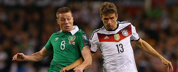 LIVE: Irland gegen Deutschland