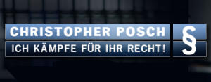 Christopher Posch - Ich kmpfe fr Ihr Recht
