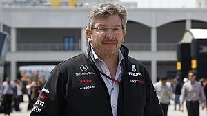 Ross Brawn, Mercedes, Formel 1