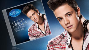 DSDS 2012 Superstar Luca Hnni mit seiner Single &quot;Don't Think About Me&quot;