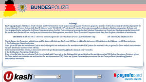 BKA, Bundespolizei, Ukash, Trojaner