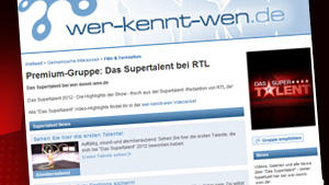 &quot;Das Supertalent&quot; gibt's auch bei wer-kennt-wen
