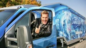 DSDS-Team 2013 auf groer Casting-Truck-Tour
