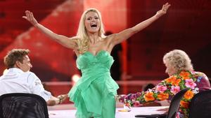 Das Supertalent 2012 Dieter Bohlen Michelle Hunziker und Thomas Gottschalk