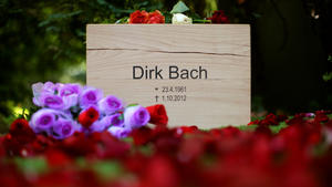 Abschied in aller Stille: Dirk Bach wurde am 07. Oktober beerdigt.
