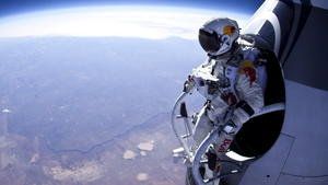 Schneller als der Schall: Weltrekordler Baumgartner springt aus 36.000 Metern