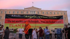 Merkel in Athen, Euro-Zone, Griechenlnad