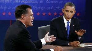 US-Wahl, TV-Duell, Obama, Romney