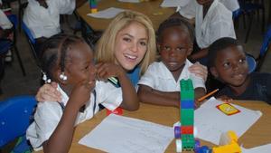 """Bild: """"RTL - Wir helfen Kindern"""" 2012: Projekt-Patin Shakira"""