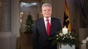 Weihnachtsansprache Bundespräsident Gauck