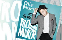 Olly Murs singt &quot;Troublemaker&quot;
