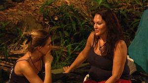 Dschungelcamp 2013 Claudelle Deckert und Allegra Curtis