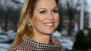 Prinzessin Maxima bei einer Konferenz in Amsterdam