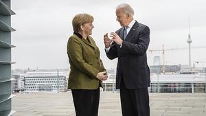 Joe Biden, Angela Merkel, Sicherheitskonferenz in München
