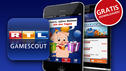Die gratis RTL Gamescout App