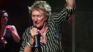 Rod Stewart live at the Troubadour
