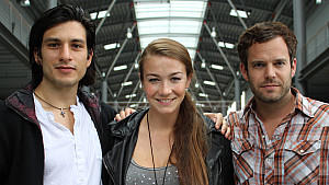 Francisco Medina (AWZ), Anna-Katharina Samsel (AWZ), Ben Ruedinger (Unter uns)
