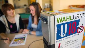 U18: Jugendliche sollen Begeisterung für Politik entwickeln.