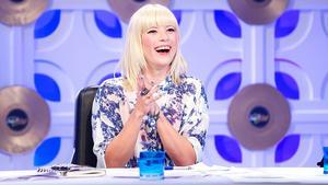 """MIA.""-Sängerin Mieze Katz in der DSDS-Jury 2014"