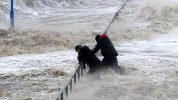 Das wetter 2013 ein langer winter die flut und stürme