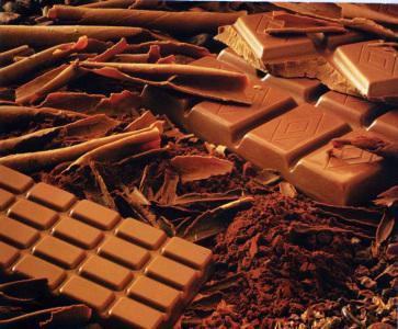 Schokolade Glücklich